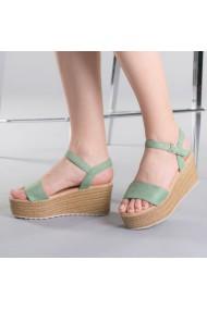Sandale dama Nona verzi