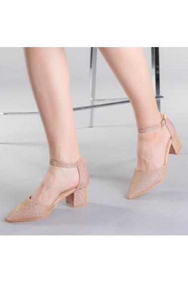 Pantofi dama Sorelia roz auriu