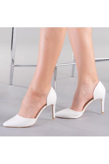 Pantofi dama Tabitta albi