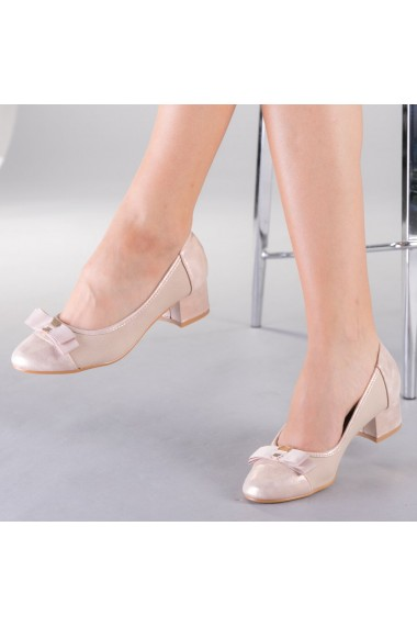 Pantofi dama Torina champanie
