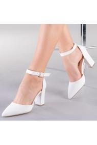 Pantofi dama Tasha albi