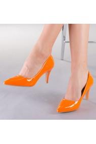 Pantofi dama Talida portocalii