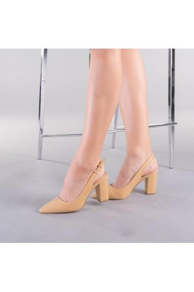 Pantofi dama Aja bej