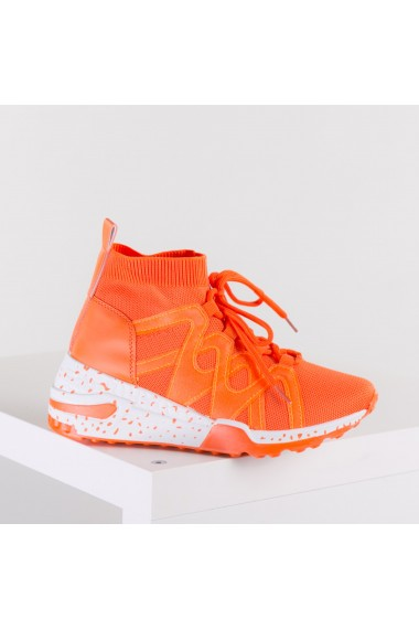 Pantofi sport dama Basco portocalii