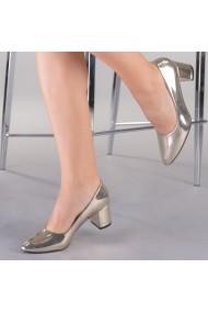 Pantofi dama Pisa aurii
