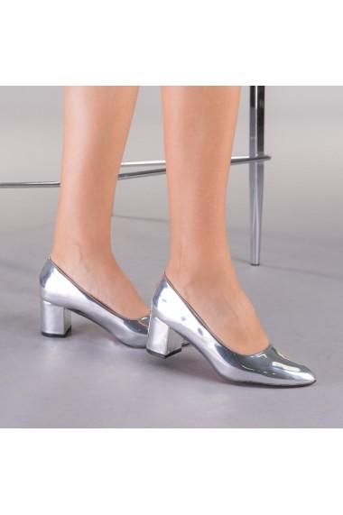 Pantofi dama Pisa argintii