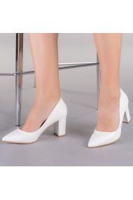 Pantofi dama Medusa albi