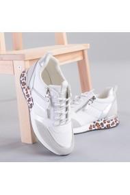 Pantofi sport dama Telma albi