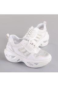 Pantofi sport dama Tosca albi