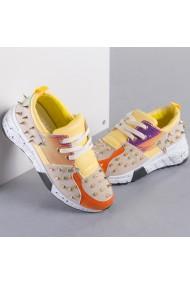 Pantofi sport dama Adana galbeni