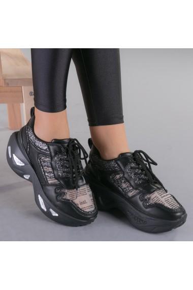 Pantofi sport dama Tosca negri