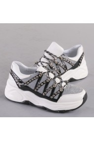 Pantofi sport dama Velma argintii