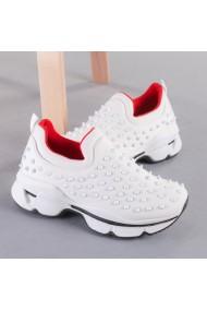 Pantofi sport dama Enova albi