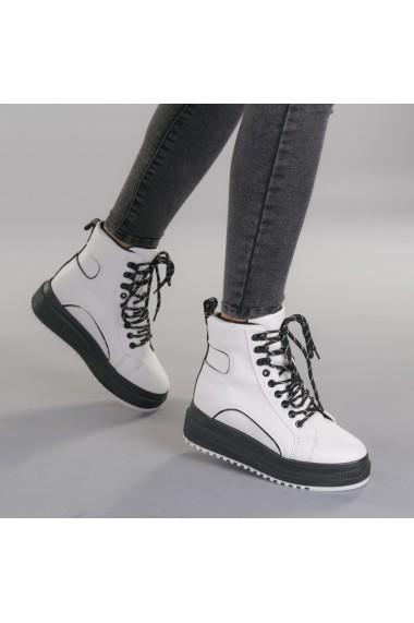 Pantofi sport dama Madona albi