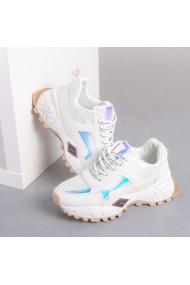 Pantofi sport dama Wina albi