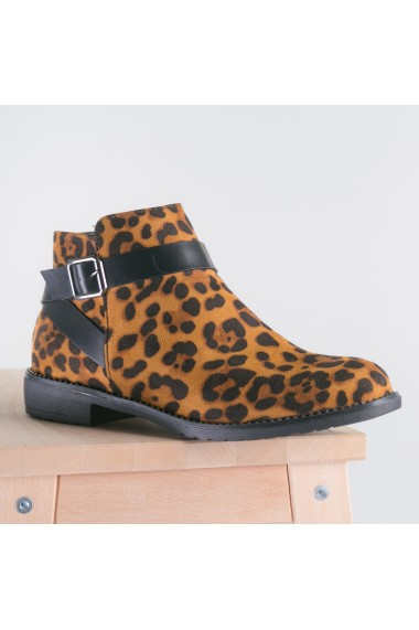 Botine dama Nitro leopard