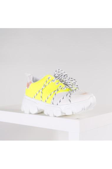 Pantofi sport dama Moransy galbeni