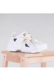 Pantofi sport dama Mombi albi