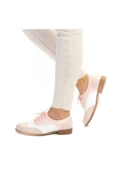 Pantofi casual dama Haven roz