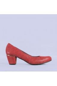 Pantofi dama piele Rubin rosii