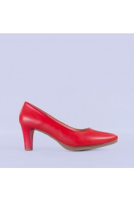 Pantofi dama piele Tesa rosii