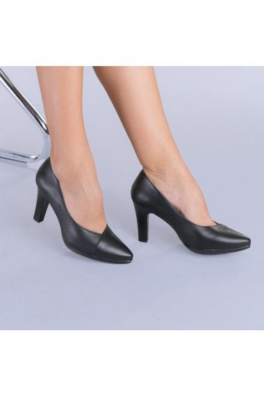 Pantofi dama piele Malaga negri