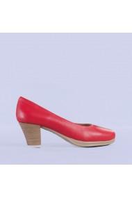 Pantofi dama piele Seea rosii
