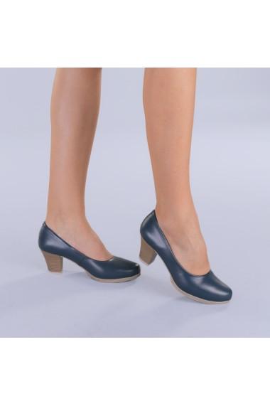 Pantofi dama piele Seea navy