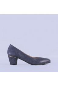 Pantofi dama piele Rubin navy