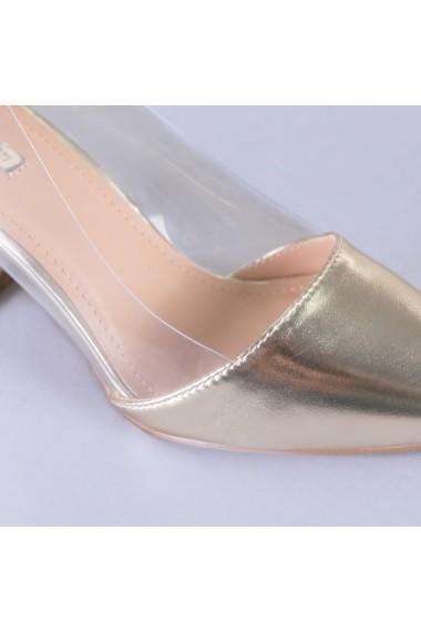Pantofi dama Paris aurii