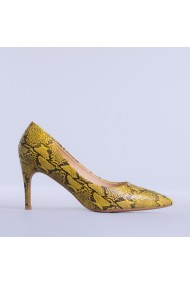 Pantofi dama Vitalie galbeni
