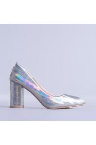 Pantofi dama Vera argintii