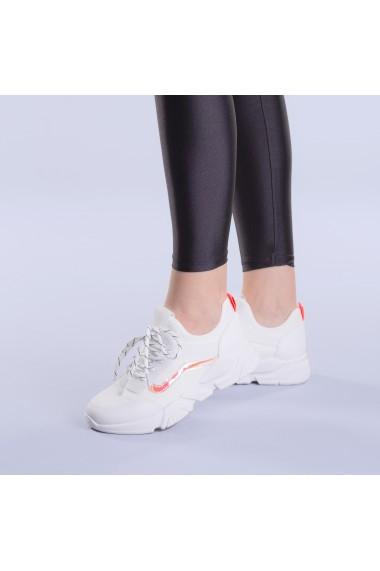 Pantofi sport dama Veroa albi