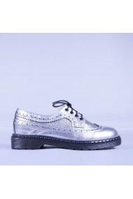 Pantofi casual dama Angela argintii