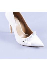 Pantofi dama Adriana albi