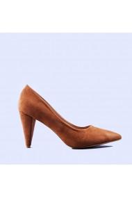 Pantofi dama Doina camel