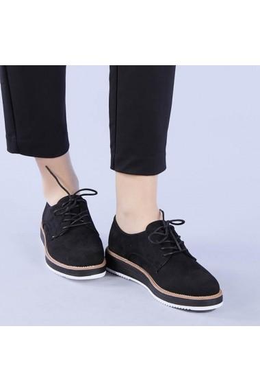 Pantofi casual dama Camelia negri
