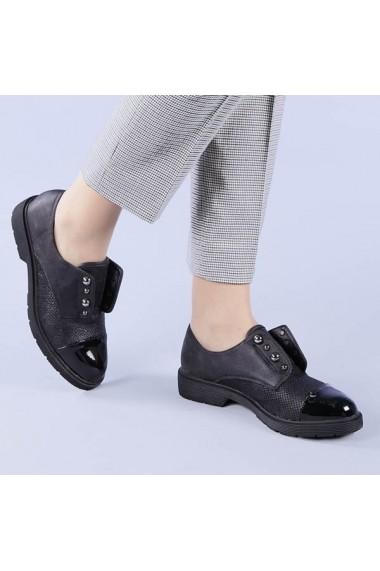 Pantofi casual dama Mirela negri