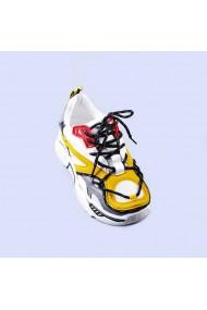 Pantofi sport dama Cecilia galbeni