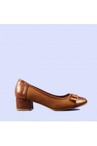 Pantofi dama Gloria camel