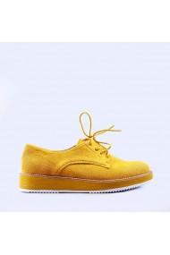 Pantofi casual dama Camelia galbeni