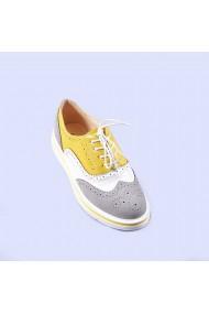 Pantofi casual dama Aurelia gri