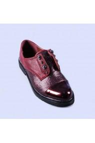 Pantofi casual dama Mirela rosii
