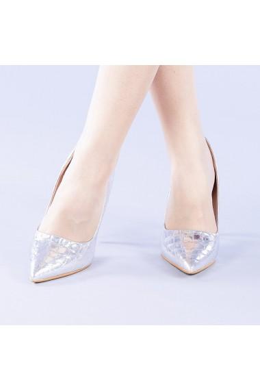Pantofi dama Cecilia argintii