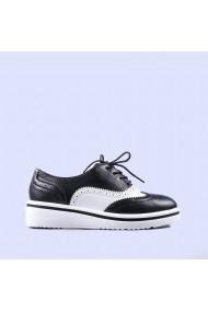 Pantofi casual dama Aurelia negri