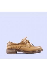 Pantofi casual dama Andra camel