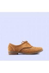 Pantofi casual dama Carina camel