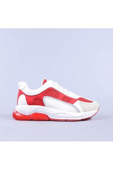 Pantofi sport dama Narcisa rosii