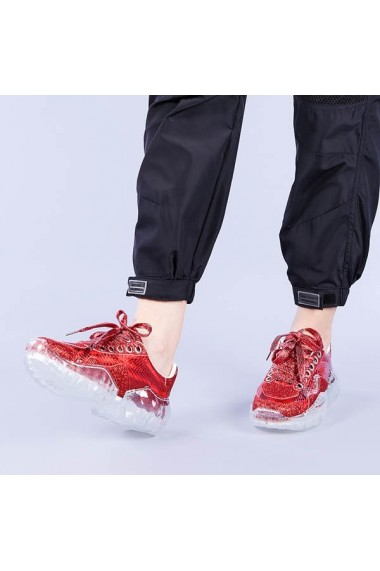 Pantofi sport dama Miroslava rosii