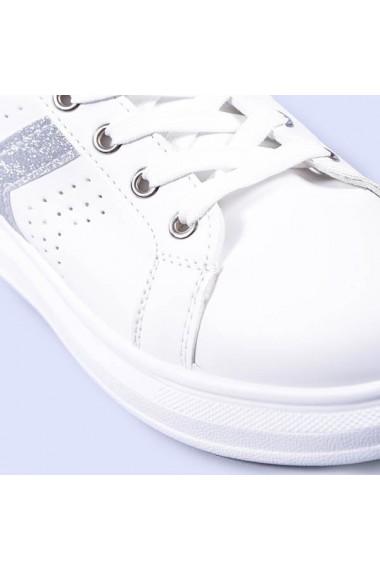 Pantofi sport dama Miruna argintii